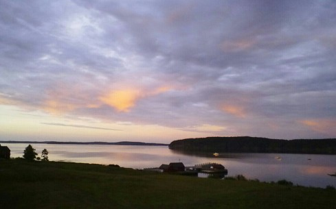 Sunset On the Island Downeast